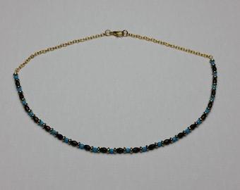 Aqua Black Necklace