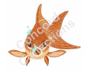 Goldfish Machine Embroidery Design