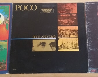 The Ultimate Poco Collection - Poco, From The Inside, Blue and Gray - BN 26522/KE 30753/MCA-5227 - 1970/1971/1981 - Great Condition!