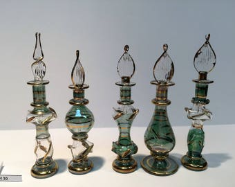 5 Egyptian Perfume Bottles