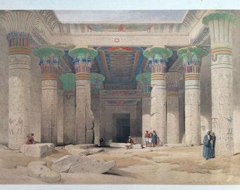 Temple of Philae - Egyptian Art - Handmade Oil Painting On Canvas