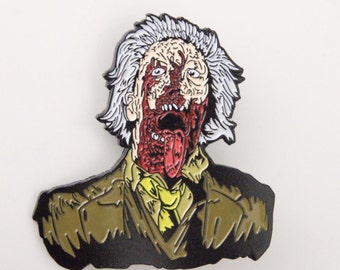 Dr Tongue Zombie Horror Enamel Pin