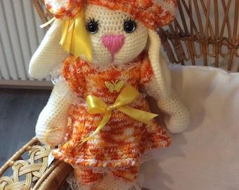 Rabbit handmade crochet