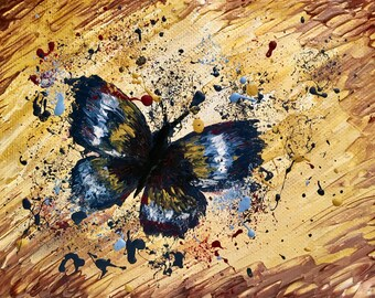 Splatter Paint Butterfly