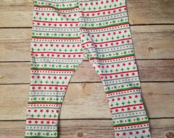Christmas leggings, toddler Christmas leggings, toddler Christmas pants, baby Christmas leggings, baby Christmas pants, holiday leggings