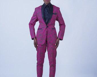 KQ tailored Tuxedo suit