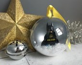 Christmas tree decoration, xmas Bauble, Superhero bauble, Christmas decoration, superhero accessory, comic book gift, geek gift, xmas bauble