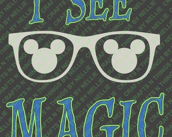 Mickey- I see Magic SVG