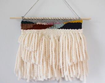 Woven Wall Hanging, Weaving Wall Hanging, Woven Tapestry, Modern Textile Art, Woven Wall Art, Handwoven Art