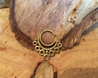 Septum Ring, Brass Septum Ring, Septum Jewelry, Indian Septum Ring, Nose Piercing, Tribal Septum Ring, Indian Nose Ring