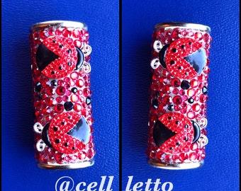 Custom Decorated Lighter Holder (case)