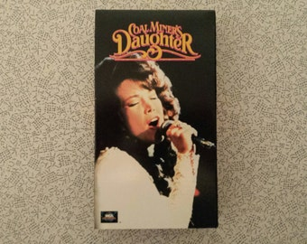 Coal Miners Daughter - VHS - Based of the Loretta Lynn Story