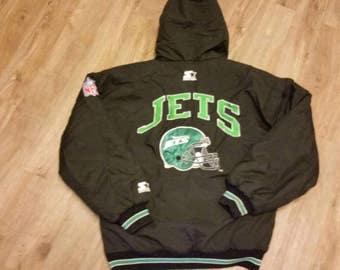New york jets starter jacket,nYJ, medium,90s