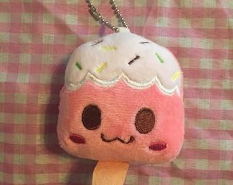 Kawaii mini plush ice cream popsicle