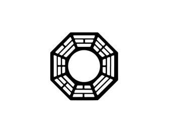 Dharma Decal - Vinyl Decal / LOST TV / LOST Decal / Dharma Initiative