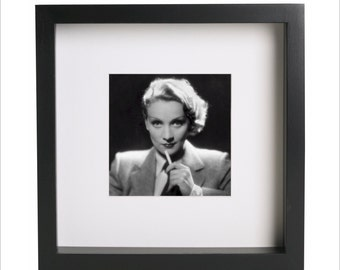 Marlene Dietrich photo print   Use in IKEA Ribba frame   Looks great framed for gift   Free Shipping   #8