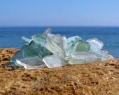 45 pcs Sea Glass bulk Seaglass white sea glass blue sea glass jewelry sea glass earings Sea glass ring Sea glass art sea glass bracelet