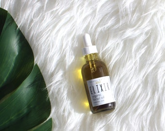 ELIXIR | Organic Facial Oil | Herbal Face Oil | Vegan Facial Care | Organic Facial Serum | Sensitive Skin Care | Organic Skin Care | Natural