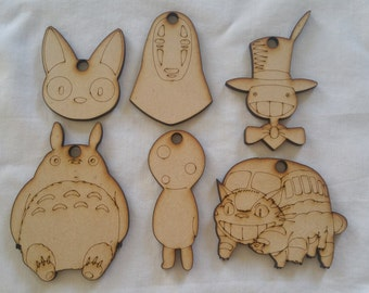 Studio Ghibli Christmas Ornaments