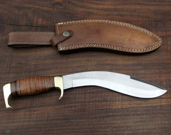"""The General No. 4  - 440c Steel kukri style knife 13"""""""
