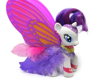 Butterfly Rarity, Customized My Little Pony
