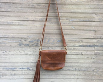 Leather crossbody bag, womens cross body bag, leather handbag