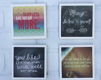 Inspirational Coaster Set