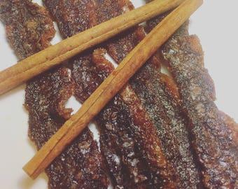 Cinnamon Candied Bacon Jerky