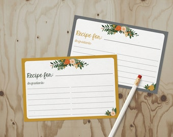 Recipe Cards - 12 pack