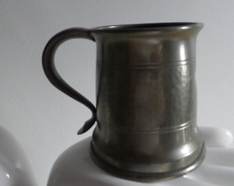 Tudric pewter William H Haseler of Birmingham Liberty of London, gothic revival tankard