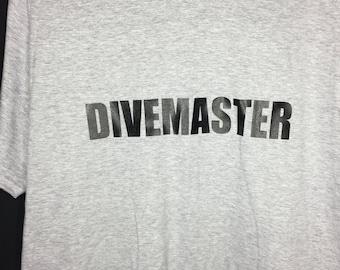 Scuba Diver Shirt Divemaster