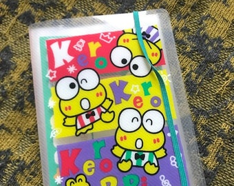 SALE! Vintage Sanrio Keroppi photo album with stickers!