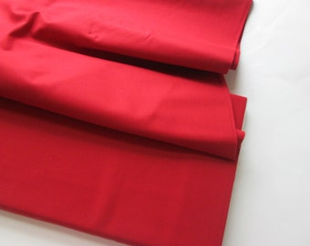 End of Bolt-Yardage of Moda's Bella Solid Red