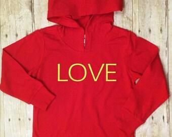 Valentines Shirt-Love-Red-Babies Valentines Shirt-Toddler Valentines Shirt-Teens Valentines Shirt-Kids Valentines Shirt-Red-Gold Glitter