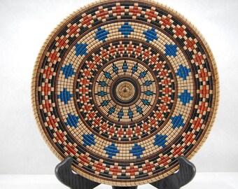 Basket Weave Illusion Platter