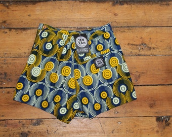 LONDON EXCLUSIVE Jekkah Trippy Tribal Psychedelic Shorts