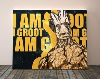 Marvel Wall Art, Marvel Canvas Art, Marvel Wall Decor, Marvel Room Decor,