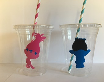 Trolls Party Cups