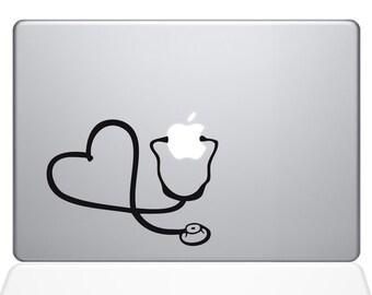 Heart Doctor Macbook Decal For Macbook Apple Laptop Sticker