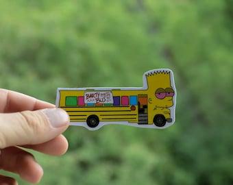 Barty Bus sticker