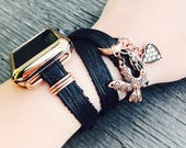 Apple Watch Band, Gift for Her, Leather Apple Watch Band, iWatch Band, Wearable Technology, Wearable Tech, Apple Watch Accessories, iWatch