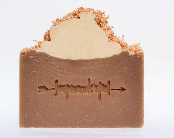 Toasted Coconut Vegan Coconut Cream Cold Process Soap
