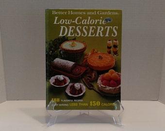 1973 Betty Crocker's Low Calorie Desserts Cookbook