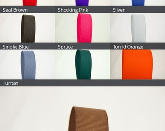 Ribbon Bazaar Solid Grosgrain Ribbon 3 inch By the Yard 100% Polyester