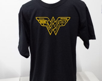 Wonder Woman Mom Tshirt- Mother Great Gift Mother's Day