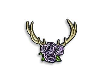 Flower Crown Pin