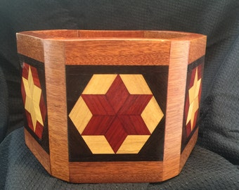 Six Sided Handcrafted Star Bowl