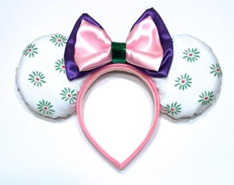 Haunted Mansion Inspired Mouse Ears - Haunted Mansion - Minnie Mouse Ears Inspired - Haunted Mansion Stretching Room - Tightrope Girl Ears