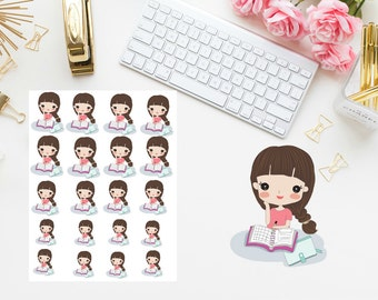 Planning girl Planner stickers