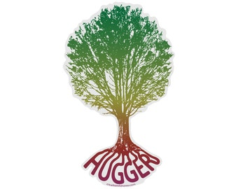 Tree Hugger Decal